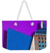 Shadow Of The City Weekender Tote Bag