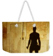 Shadow Wall Statue Weekender Tote Bag