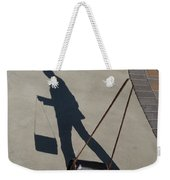 Shadowing Me Weekender Tote Bag