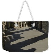Shadows Cast On The Porch Of Gillette Weekender Tote Bag