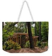Shadows In The Garden Weekender Tote Bag