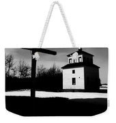 Shadows Of The Bell Tower Weekender Tote Bag