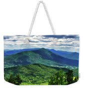 Shadows On The Mountains Weekender Tote Bag