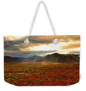 Shaft Of Sunlight Hitting The Fall Weekender Tote Bag