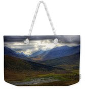 Shaft Of Sunlight Hitting The North Weekender Tote Bag