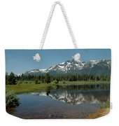 Shallow Water Reflections Weekender Tote Bag