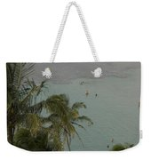 Shallow Waters At The North Shore Weekender Tote Bag