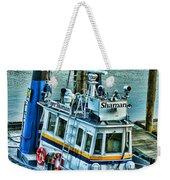 Shaman Tug-hdr Weekender Tote Bag by Randy Harris
