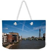 Shard And River Thames Weekender Tote Bag