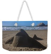 Shark Sand Sculpture Weekender Tote Bag