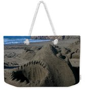 Shark Sculpture Weekender Tote Bag