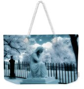 She Dreams In Blue Weekender Tote Bag