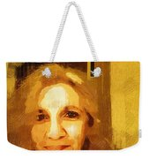 She Smiles Sweetly Weekender Tote Bag