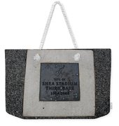 Shea Stadium Third Base Weekender Tote Bag