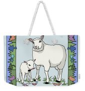 Sheep Artist Sheep Art Weekender Tote Bag
