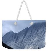 Sheer Mountain Face Weekender Tote Bag