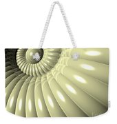 Shell Of Repetition Weekender Tote Bag