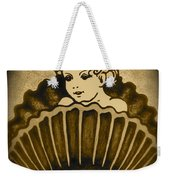 Shell With Child 2 Weekender Tote Bag by Georgeta  Blanaru