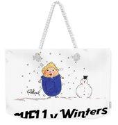 Shelly Winters Weekender Tote Bag