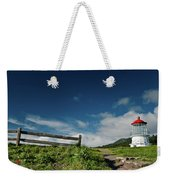 Shelter Cove Lighthouse Weekender Tote Bag