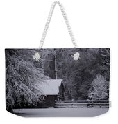 Shelter From The Cold Weekender Tote Bag