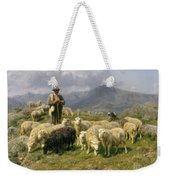 Shepherd Of The Pyrenees Weekender Tote Bag