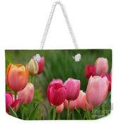 Sherbert Color Tulips Weekender Tote Bag