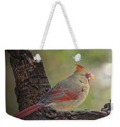Shes An Early Bird  New Version Weekender Tote Bag