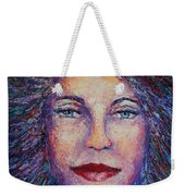 She's Come Undone Weekender Tote Bag by Shannon Grissom