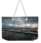 Shilshole Marina Tranquility Weekender Tote Bag