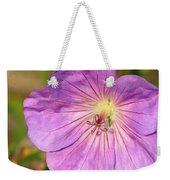 Shimmer Flower Weekender Tote Bag