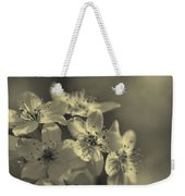 Shimmering Callery Pear Blossoms Weekender Tote Bag
