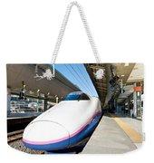 Shinkansen At Tokyo Station Weekender Tote Bag