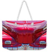 Shiny Red Ford Convertible. Weekender Tote Bag