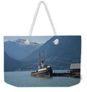 Shipping Freighter In Squamish British Columbia No.0187 Weekender Tote Bag