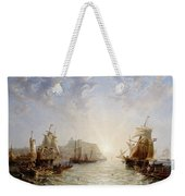 Shipping Off Scarborough Weekender Tote Bag