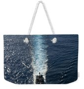 Ships From The John C. Stennis Carrier Weekender Tote Bag