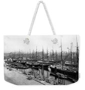 Ships In Harbour 1900 Weekender Tote Bag