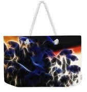 Shocking Petunias Weekender Tote Bag