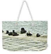 Shoes On The Danube Bank - Budapest Weekender Tote Bag