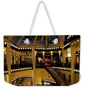 Shopping Mall In The Evening Weekender Tote Bag