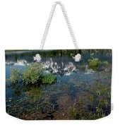 Shore Reflections Of Mt Tallac Weekender Tote Bag