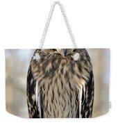 Short-eared Owl Weekender Tote Bag