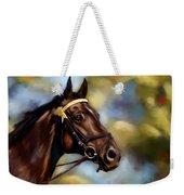 Show Horse Painting Weekender Tote Bag