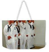 Showing Respect Weekender Tote Bag