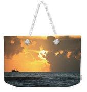 Shrimp Boat Sunrise Weekender Tote Bag