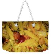 Shrimp N Pasta Weekender Tote Bag