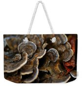 Shrooms Abstracted Weekender Tote Bag