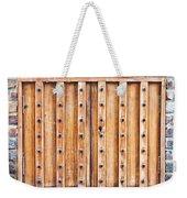 Shutters Weekender Tote Bag by Tom Gowanlock
