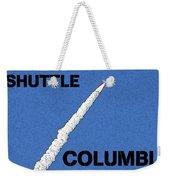 Shuttle Columbia Weekender Tote Bag